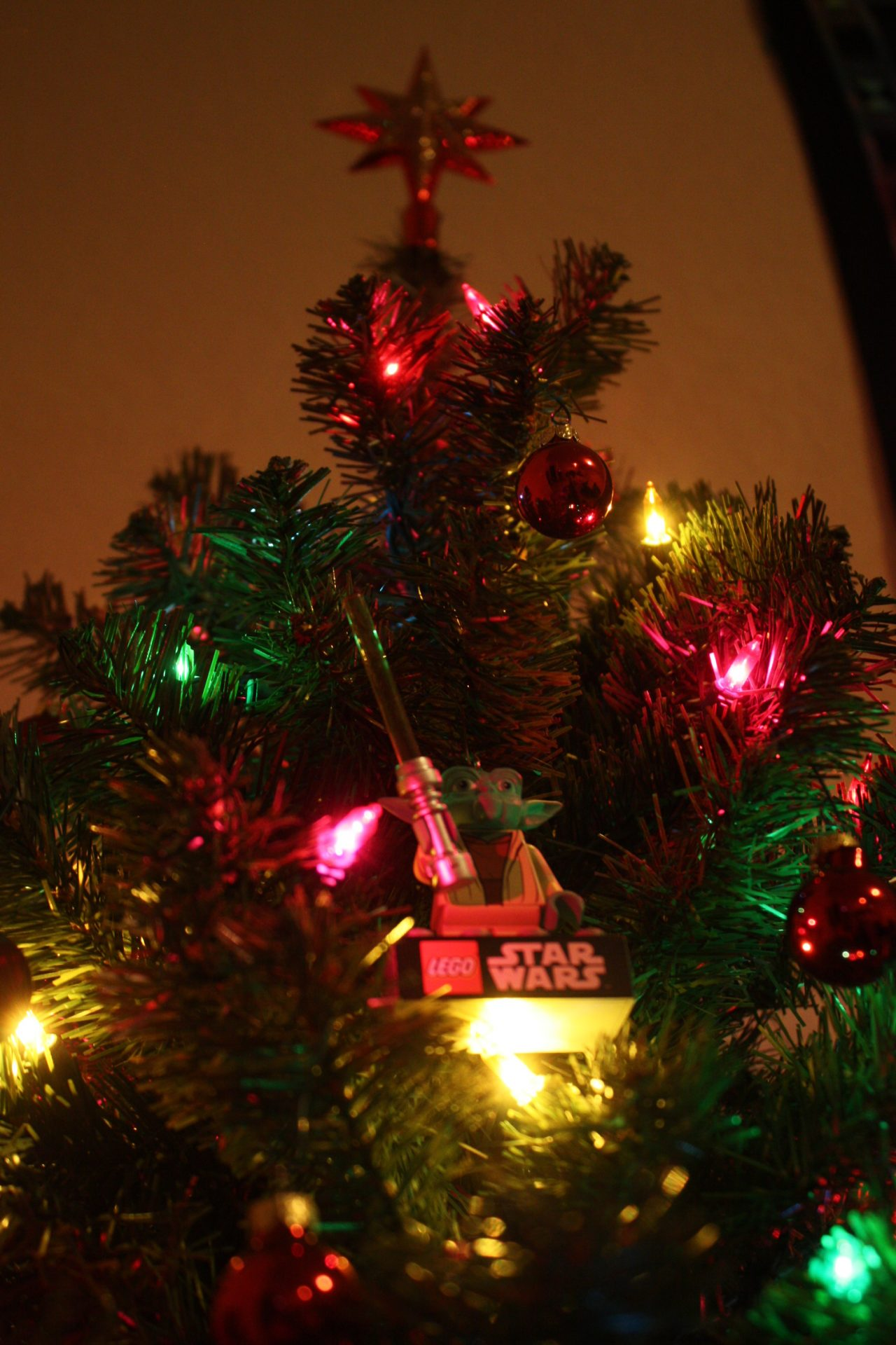 Lego Yoda Christmas Ornament and Star Topper